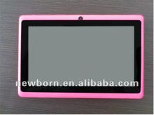 wholesale high quality 7 inch Android 4.0 tablet PC Allwinner A13 512mhz DDR3 4G