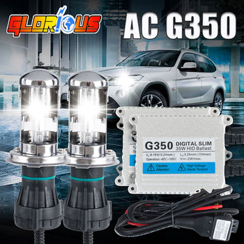 HOT for good quality G350 35W SLIM HID BALLAST H4-3 H13-3 9004/9007-3 BIXENON HID KIT 4300 6000 8000 10000 ,bixenon 6000k h4 hid