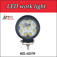 Spot/flood beam,used for off road car ,Jeep,Truck,4WD,10-45V DC,super bright led work light 27w,Warranty 2 years
