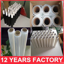 alibaba china 17mic-23mic casting shrink wrap film/pallet stretch wrap/Stretch film