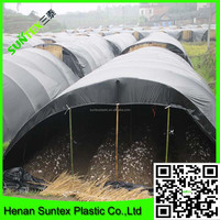 high quality black mushroom shading film/2015 modern appearance solar control greenhouse used film/new fabric plastic membrane