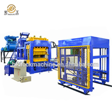 QT12-15 Fully automatic red clay brick block making machine