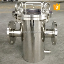Stainless Steel Basket-Type Strainer Filter Solids Removal