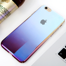 2018 Best selling PC ultrathin frosted gradient color phone case For iphoneX
