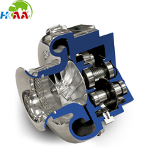 High performance CNC machining motorcycle superchargers