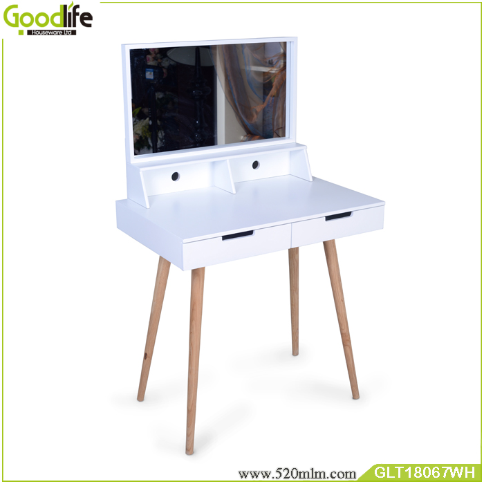 modern wooden computer tables with drawers from China