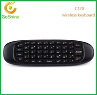 Factory air fly mouse C120 controller 2.4G wireless game mini keyboard with higher quality