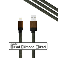 Wholesale 1year Warranty Fast Charging USB Data Cable for iPhone/Cellphone