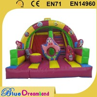 Plastic large inflatable fun city