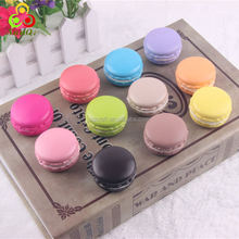 Multi- colors squishy macaron charms for decoration /9 colors in stock