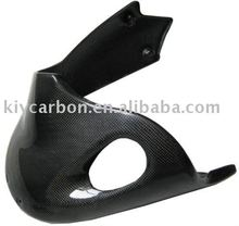 Carbon fiber belly pan for Buell XB motorcycles