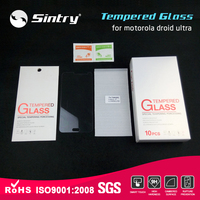 Most popular Nano coating free sample phone screen protector 0.2 MM mobile glass screen guard for motorola droid ultra
