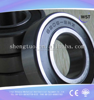 stainless steel material factory direct sale roller bearing 6206 deep groove structure ball type