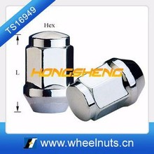 discount black alloy wheel forged lug nut
