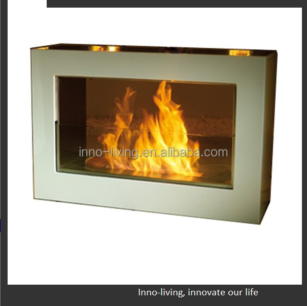 decor flame electric fireplace ethanol fuel