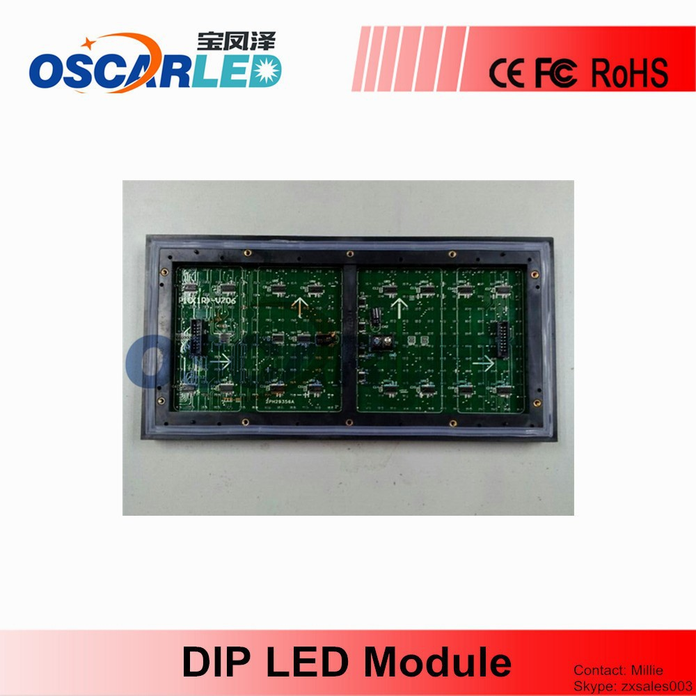 Supply P10 Single Color Led Display Screen, Module
