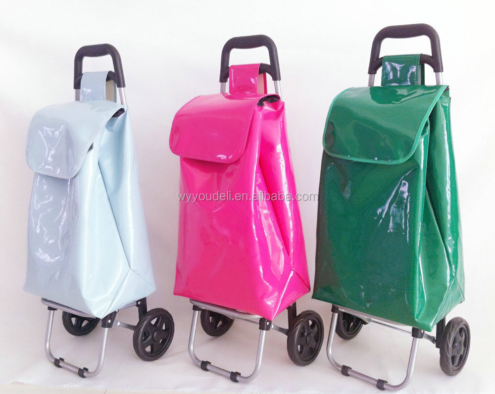 easy folding shoppin trolley ,car with luggage bag