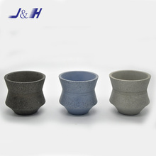 Fashion Colorful Cement Candle Holder for Home Decoration