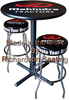 Commercial Logo Bar Stool and Commercial Table top with custom Logo