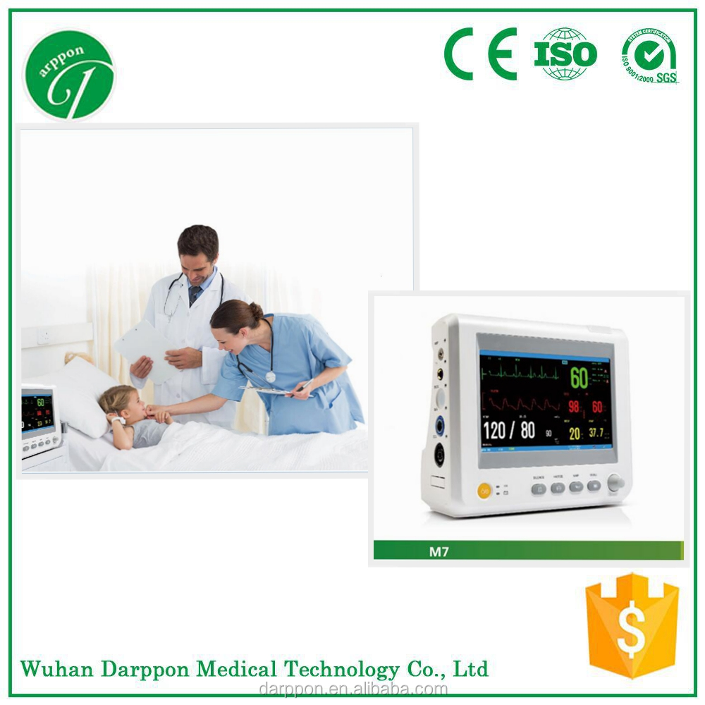 Portable 6 Standard parameters Mini Patient Monitor