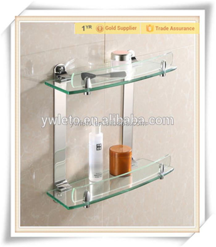 fashonable bathroom accessories display rack glass bathroom shelf buy bathroom corner shelfglass rack shelfglass shelf dowel product on alibabacom