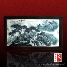 Handpainted excellent quality ink decoration wall scenery painting made by famous artist