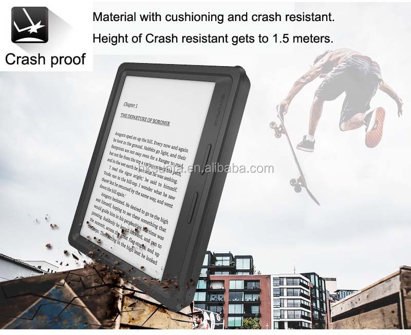wholesale E-book Cover Ultrathin PU Waterproof Anti-Shock Case for Kindle eReader