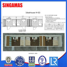 40hc Prefab Good Design Residential Container House