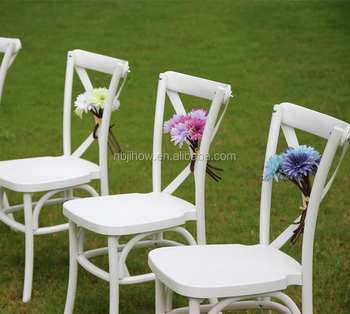 factory supply plastic cross back banquet chair/Dining Chair