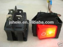 120V-240V OFF/ON 2-Gang Light Power Rocker Switch
