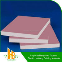 9.5mm Waterproof Gypsum Board For Partition