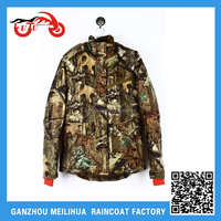 Factory OEM Wholesale Ladies Insulated Winter Parka Camo Hunting Jacket with Hood