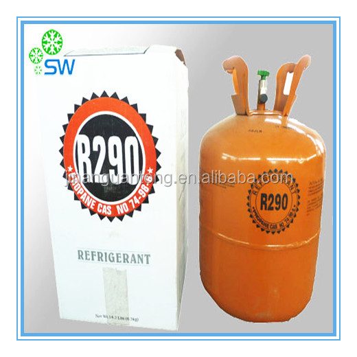 Epoxy resin refrigerant gas R290 For Wholesale