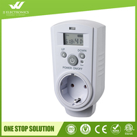 2017 New design with CE and ROHS plug in Room Temperature Humidity Climate Thermostats