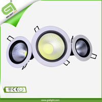 Shenzhen factory high quality high power brightness 15 watt led downlight floor ceiling recessed with 2 years warranty