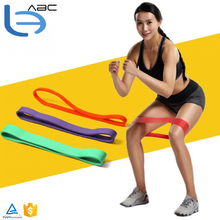Natural Latex Pull Up Assist Band Fitness Resistance Band CrossFit Yoga Exercises Looped for 10-70Lbs Training Equipment