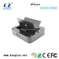 Fashional 2 bay SATA CLONE/OTB hdd docking station raid 1