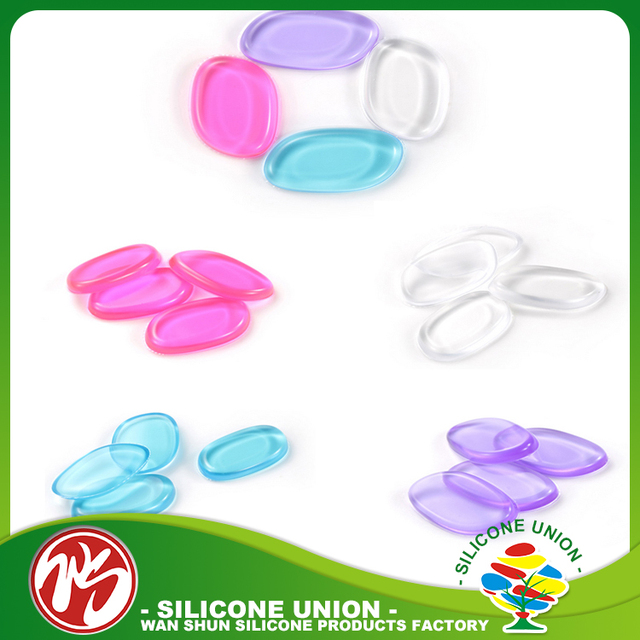 Fashional cosmetic products wholesale good quality Silicone Sponge Powder Puff