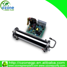 Hot blast ozone 30g/hr water cooling high output ozone generator parts