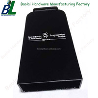Black Plated Zamak Wholesale Handle Cowbell