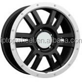 TRD replica auto wheel rims machine face for off road 4x4 Suv car