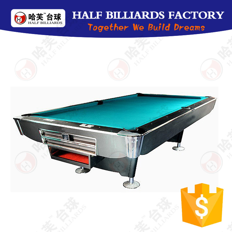 2016 high quality 9ft pool table for sale in Guangzhou