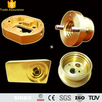 ISO9001Precision brass turing parts 5 axis cnc milling machine parts made in china