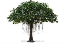foliage outdoor plant garden decorated tree Artificial Ficus microcarpa