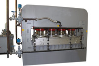 Hot vacuum press laminating machine/thermo press/fast veneering