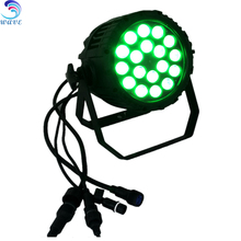 Hot Led lighting Slim rgbw 4in1 IP65 18*10w Led Par Light