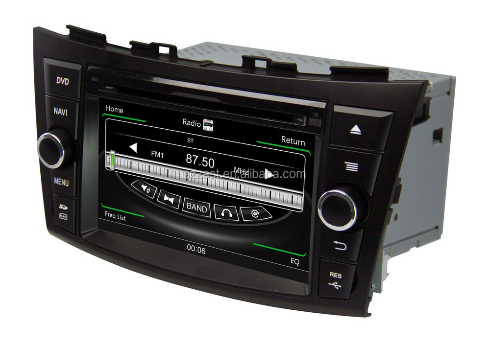 2 din touch screen car CD player/GPS/radio/3G/video car multimedia player for suzuki swift