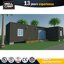 Low Cost Modern Container Construction 2 Bedroom Modular Homes 3D Container House Design
