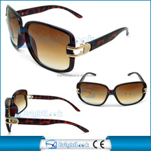 fashionable sunglasses with metal decoration imitation sunglasses