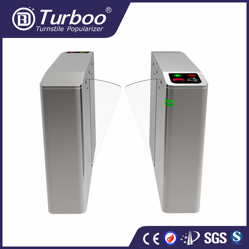 Retractable Mechanical Electronic Turnstile sliding gates For Stadium Access Control